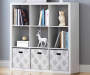 9 Cube White Storage Cubby lifestyle
