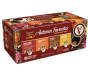 96 Count Autumn Favorites Single Serve Brew Cups Premium Variety Pack In Package Angled View Silo Image