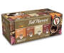 96 Count Fall Harvest Single Serve Brew Cups Premium Variety Pack In Package Angled View Silo Image