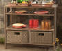 ANTIGUA BEVERAGE/SERVING CART
