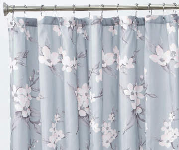 Purple And Teal Shower Curtain.  12 00 Shower Curtains Curtain Sets Big Lots