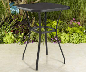 Wilson Amp Fisher Aspen 27 Quot Square Glass Top Balcony Table