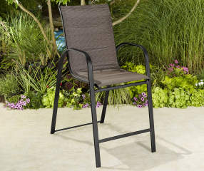 Wilson Amp Fisher Aspen Padded Fabric Balcony Chair Big Lots