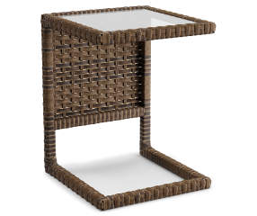 Augusta All Weather Wicker C Side Table Big Lots