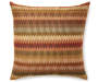 Acquinto Spice Throw Pillow 20 Inches by 20 Inches with Pattern Front Overhead View Silo Image