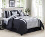 Alchmey 10 Piece Queen Bed In A Bag on Bed Room View