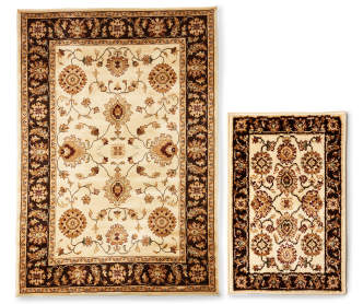 Living Colors Nobel Collection Tapestry Area Rug 5 3 Quot X