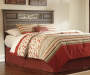 Allymore Brown Full Queen Headboard lifestyle