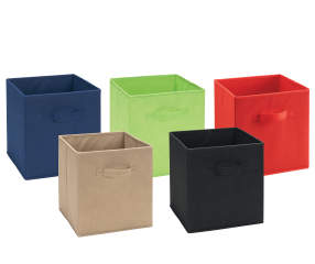 Ameriwood System Build Fabric Storage Bins Big Lots
