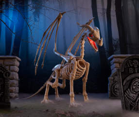 Animated Skeleton Dragon 80 Quot Big Lots