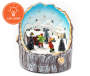 Animated Village Skater Scene Tabletop Decor Silo Image 2