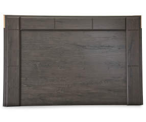 Signature design by ashley annifern poster queen headboard 1 of 4 pieces big lots for Annifern poster bedroom collection
