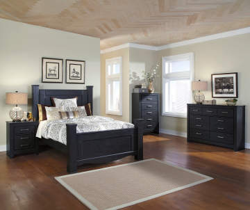 Furniture collections big lots for Annifern poster bedroom collection