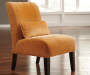 Annora Orange Accent Chair