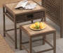 Antigua Nesting Side Tables 4 Piece Set lifestyle
