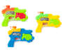 Aqua Zapper Water Guns 3 Pack Out of Package Silo Image