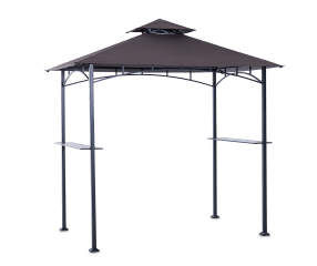 wilson fisher arden grill gazebo 8 39 x 5 39 big lots. Black Bedroom Furniture Sets. Home Design Ideas