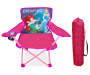 Ariel and Cinderlla Fold N Go Chair and Bag Front View Silo Image