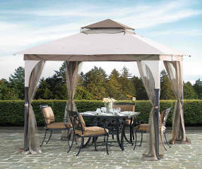 Wilson Amp Fisher Arlington Soft Top Gazebo With Net 8 X