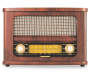 Art and Sound Retro Bluetooth Radio Front View Silo Image