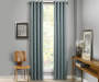 Atticus Mineral Blackout Curtain Panel 95 Inches Window View