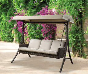 Wilson Amp Fisher Augusta All Weather Wicker 3 Person Patio