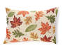Autumn Leaves Tapestry Throw Pillow Silo Front
