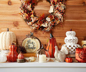 Autumn Radiance Décor Collection - Big Lots