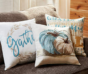 Big Lots Red Throw Pillows : Autumn Radiance Decorative Pillow Collection Big Lots