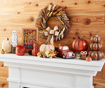 450 1400 autumn radiance pumpkin dcor collection - Pumpkin Decor