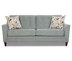 Simmons Avalon Teal Sofa Big Lots