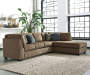 Ayers Left Arm Facing Sofa Sectional and Right Arm Facing Chaise Sectional Room View