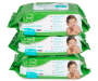 B Loved Unscented Baby Wipes Stack Shot