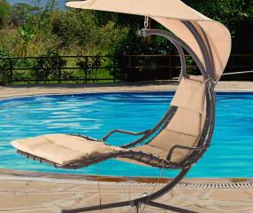 Wilson Amp Fisher Baton Single Seat Swing With Canopy Big Lots