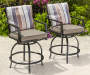 BAYSHORE HIGH BISTRO 2PK CHAIRS