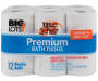 BIG LOTS 12DR BATH TISSUE 264CT