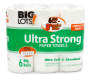 BIG LOTS UTR PREMIUM TOWEL 6BR 84CT