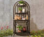BLACK FOUR TIER BAKERS RACK