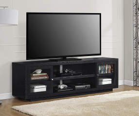 Ameriwood 72 Quot Black Oak Tv Stand Big Lots