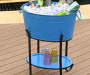 BLUE COLORED PARTY TUB