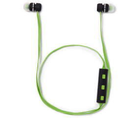 sentry black green bluetooth earbuds with case big lots. Black Bedroom Furniture Sets. Home Design Ideas
