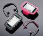 BT BTN EAR BUDS W ARM BAND PINK