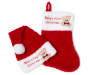 Baby First Stocking Hat Set Stacked and Fanned Silo Image