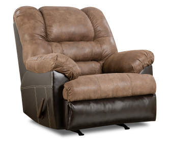 Stratolounger Samson Chocolate Big One Recliner Big Lots