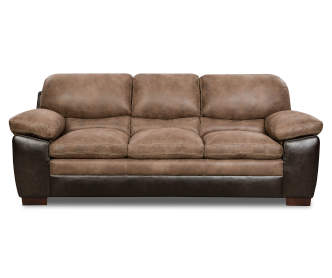 Signature design by ashley pindall sofa big lots for What is a small couch called