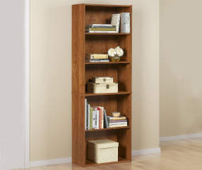 Ameriwood Bank Alder 5 Shelf Bookcase Big Lots
