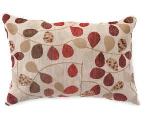 Bayberry Rouge Jacquard Lumbar Pillow 14 Quot X 20 Quot Big Lots