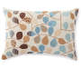 Bayberry Spa Throw Pillow 14 Inches by 20 Inches Front View with Birds Silo Image