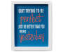 Better Than Yesterday Framed Box Wall Plaque silo front