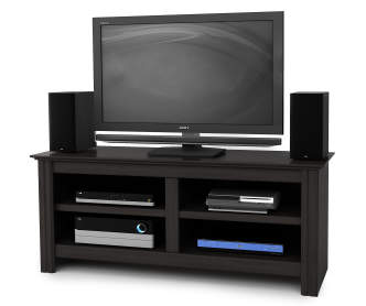 50 Mounted Wood TV Stand